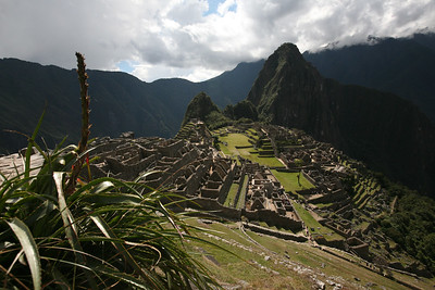 MACHU PICCHU, PERU: Taking the triain into Aquas Calentes (Machupicchu Pueblo), climbing Putucusi, visiting the museum, then climbing Waynapicchu, Huchuypicchu and walking to the Inka Bridge. David Bailey, Robert Horner, Cameron Martindell;