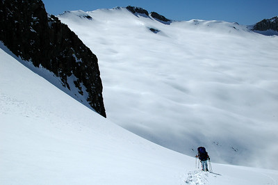 After lunch, we continue our descent into Cloud Canyon and onto our next objective, Copper Mine Pass.