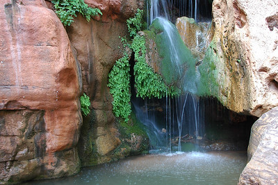 A popular swimming hole - Elves Chasm