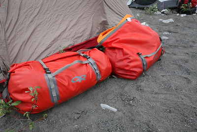 These 45L lateral waterproof bags worked great for the 15-day river trip in the Alaskan Arctic. Check out more about them under the Gear Review section at offyonder.com.